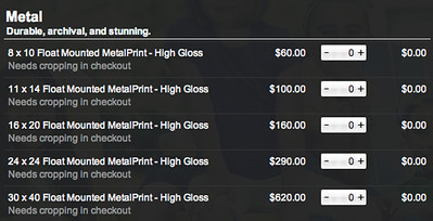 metal pricing