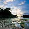 Tanah Lot Landscape Before Sunset in Bali