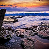 Sunset at Dreamland Beach