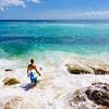 A Surfer in Paradise (Bingin Beach)