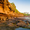 Tanah Lot Rock Formation During Sunset in Bali