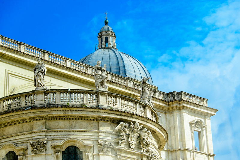 Basilica Santa Maria Maggiore Roof - Rome, Italy