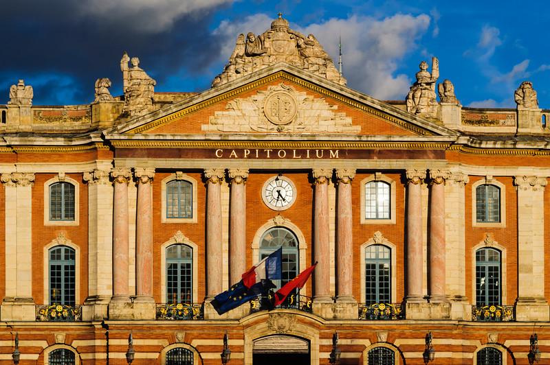 Capitoloum Building in Toulouse, France
