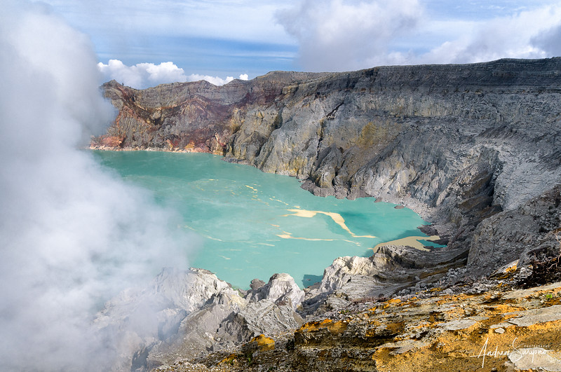 The Valley of Ijen Crater