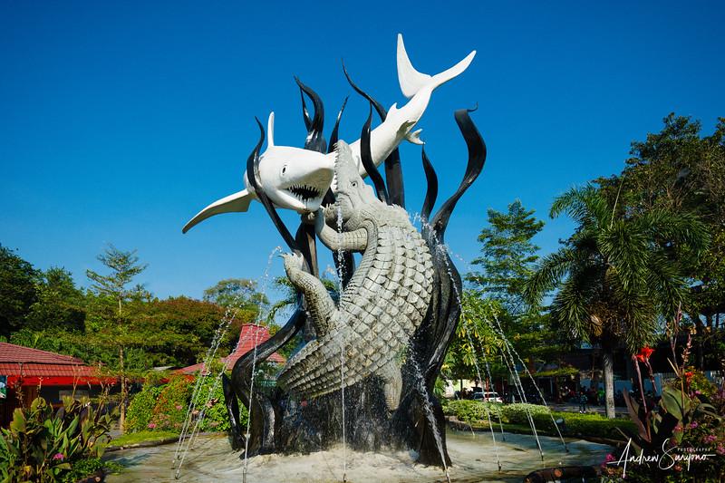 The Sura and Baya Statue