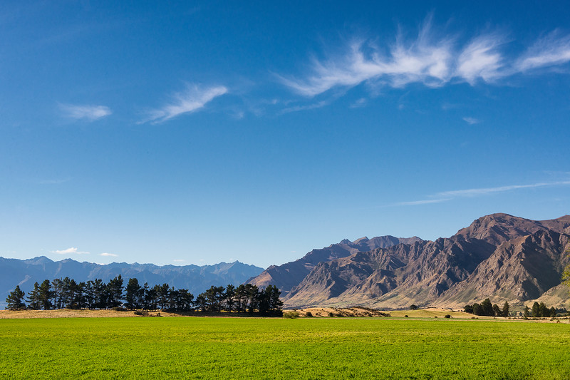 Hawea Roadside View