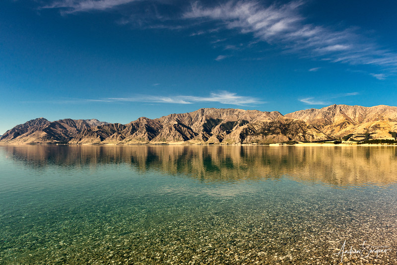 Reflections at Lake Hawea