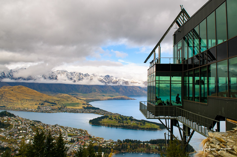 QTOWN17 - Queenstown and The Skyline Restaurant