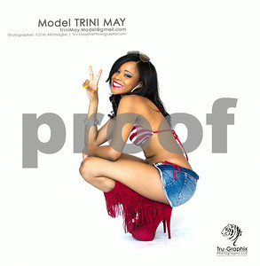 Model: Trini May - Bikini Patriot