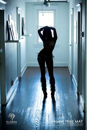 Model: Trini May - Hallway Goddess
