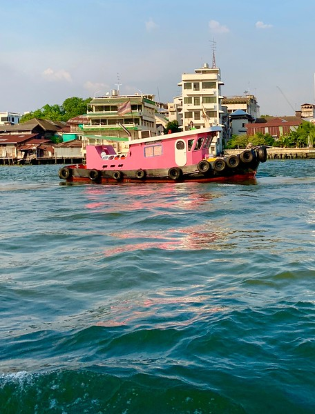 Boating on the Khlong Ton Sai