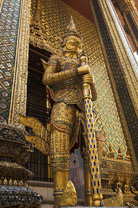 Bangkok Demon Guardian at The Phra Mondop