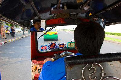 Bangkok Tuk-Tuk Driver