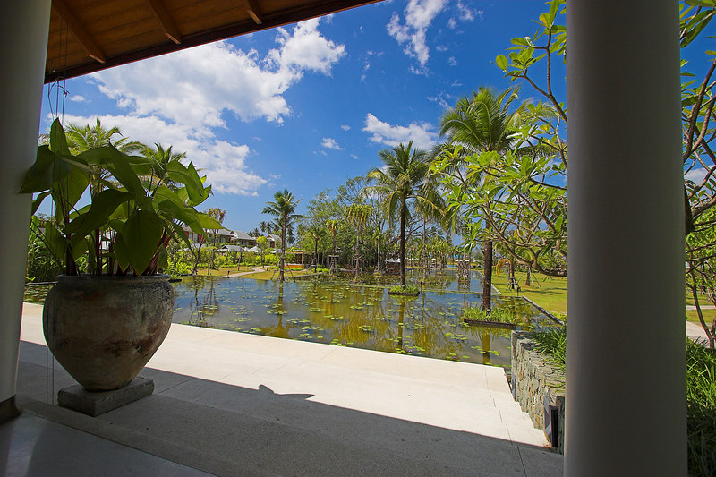 Sarojin Resort - Khao Lak<br /> View from Lobby