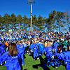 SENTINEL & ENTERPRISE / BRETT CRAWFORD<br /> Leominster High School cheerleaders pump up the crowd during Thursday's annual Thanksgiving Day rivalry football game against Fitchburg at Doyle Field. Leominster won 38-22.