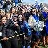 Festive Leominster fans during the Thanksgiving Day game on Thursday. SENTINEL & ENTERPRISE / Ashley Green