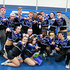 Leominster High School held it's football pep rally on Tuesday morning at the school. They will be playing Fitchburg on Thanksgiving day. The seniors that performed as cheerleaders at the pep rally posed for a picture. SENTINEL & ENTERPRISE/JOHN LOVE