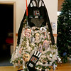 The Festival of Trees in Leominster will open on November 29th at 11 a.m. at City Hall. This Star Wars themed tree for the annual event was created by Wright Roy Funeral Home. SENTINEL & ENTERPRISE/JOHN LOVE