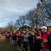 Fitchburg fans cheer on the football team after falling to Leominster in the Thanksgiving Day game on Thursday. SENTINEL & ENTERPRISE / Ashley Green