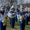 The Leominster High band performs the Thanksgiving Day game on Thursday. SENTINEL & ENTERPRISE / Ashley Green