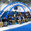 Leominster High School held it's football pep rally on Tuesday morning at the school. They will be playing Fitchburg on Thanksgiving day. The Football team sat in the guest of honor spots in the center of the gym. SENTINEL & ENTERPRISE/JOHN LOVE