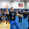 Leominster High School held it's football pep rally on Tuesday morning at the school. They will be playing Fitchburg on Thanksgiving day. The teachers performed a flash mob at the pep rally. History teacher Ben Joseph was one of the teachers that was part of the mob. SENTINEL & ENTERPRISE/JOHN LOVE