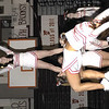 SENTINEL & ENTERPRISE / JONATHAN PHILLIPS<br /> The Fitchburg High School cheerleading squad performs during the pre Thanksgiving pep rally at the Doug Grutchfield Field House, Tuesday night.