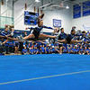 Leominster High School held it's football pep rally on Tuesday morning at the school. They will be playing Fitchburg on Thanksgiving day. The varsity cheerleading squad performed a routine during the pep rally. SENTINEL & ENTERPRISE/JOHN LOVE