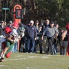 SENTINEL & ENTERPRISE / JOHN LOVE<br /> NMRHS's Joe Dolciotto catches Nashoba's Brady Schartner during action in the Thanksgiving Day game.
