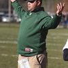 SENTINEL & ENTERPRISE / JOHN LOVE<br /> Nashoba assistant coach James Tucker reacts to a call late in the game.
