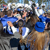 Leominster fans and students help celebrate after the 23-8 victory over Fitchburg in the Thanksgiving classic on Saturday afternoon at Doyle Field. SENTINEL & ENTERPRISE / Ashley Green