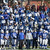 The Leominster High Marching Band during the Thanksgiving matchup on Saturday afternoon at Doyle Field. SENTINEL & ENTERPRISE / Ashley Green