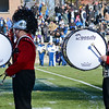 The Red Raider Marching Band performs  during the Thanksgiving matchup on Saturday afternoon at Doyle Field. SENTINEL & ENTERPRISE / Ashley Green