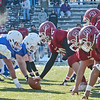 Fitchburg and Leominster face off during the Thanksgiving matchup on Saturday afternoon at Doyle Field. SENTINEL & ENTERPRISE / Ashley Green
