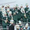The Oakmont Marching Band performs during the Thanksgiving game between Gardner and Oakmont on Thursday morning. SENTINEL & ENTERPRISE / Ashley Green
