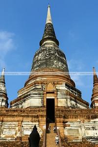 Wat Yai Chai Mongkol, Ayutthaya Historical Park, Thailand