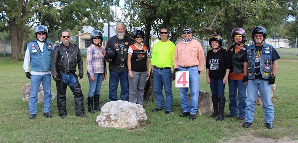 "2017-10-14 OCT Chapter Ride 'Salt Lick BBQ"" Group 4 by Dale Hardy"