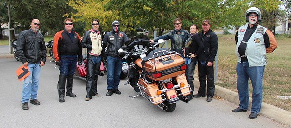 2017-11-11 NOV Chapter Ride 'River City Grille' by Dale Hardy