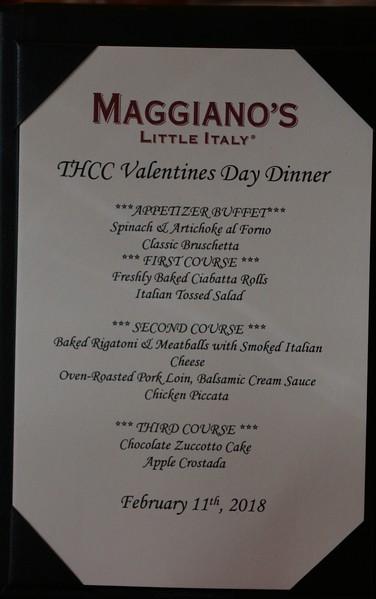 2018-02-10 FEB Valentines Day Dinner
