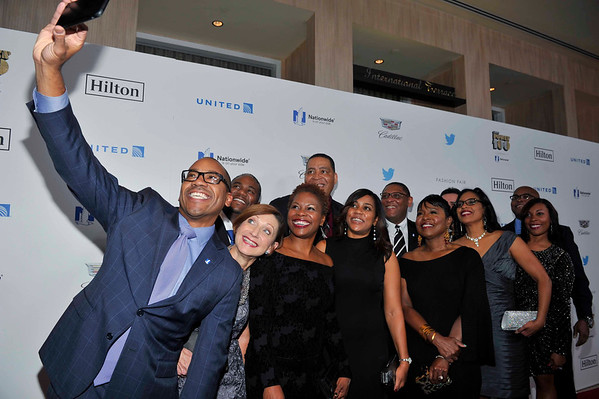 THE 2016 EBONY POWER 100 GALA HOSTED BY CEDRIC THE ENTERTAINER ON THURSDAY DECEMBER 1, AT THE BEVERLY HILTON HOTEL PRESENTED BY NATIONWIDE. HONOREES INCLUDE CICELY TYSON, CEDRIC THE ENTERTAINER, EARTH WIND & FIRE, ISSA RAE, AND MANY MORE.  PHOTOS BY VALERIE GOODLOE