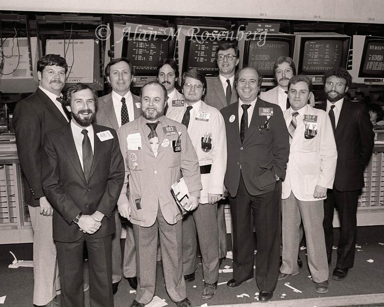 American Stock Exchange Floor Brokers Association-1983 Beards Optional!