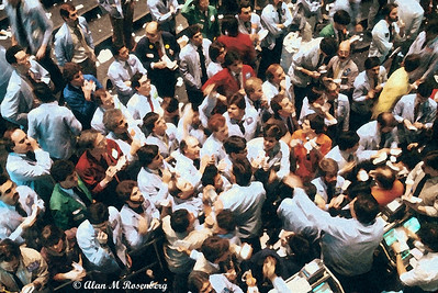 American Stock Exchange Options Pit.