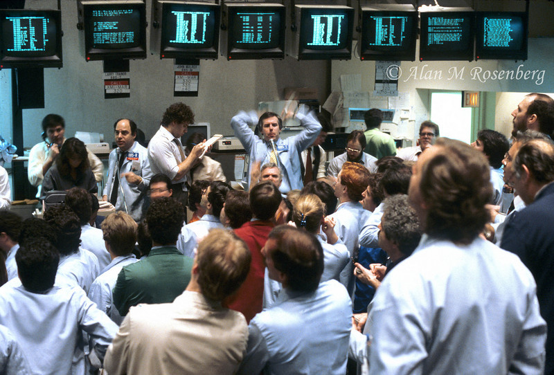 American Stock Exchange Options Pit