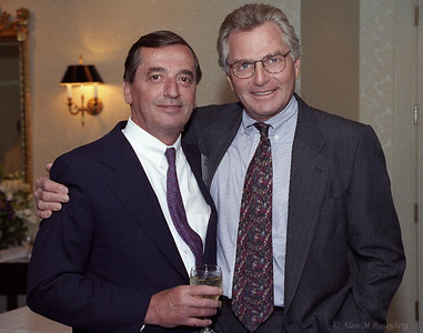 Former AMEX Govornors (L) Edwin Crooks and (R) Mark Greenberg.  Gone but not forgotten!