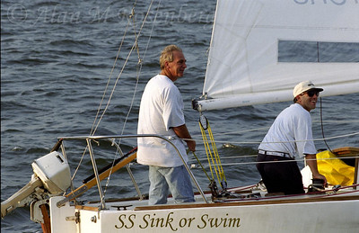 Team Captain George Reichelm, with his able crew sailed on to victory, capturing the silver cup