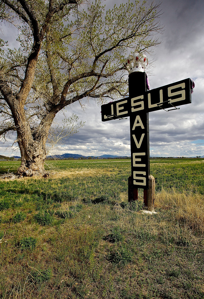 Jesus Saves.  Schurz, Nevada