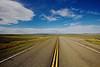Open Road. Montana