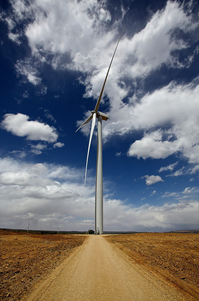 Wind Turbine, Monticello, Utah