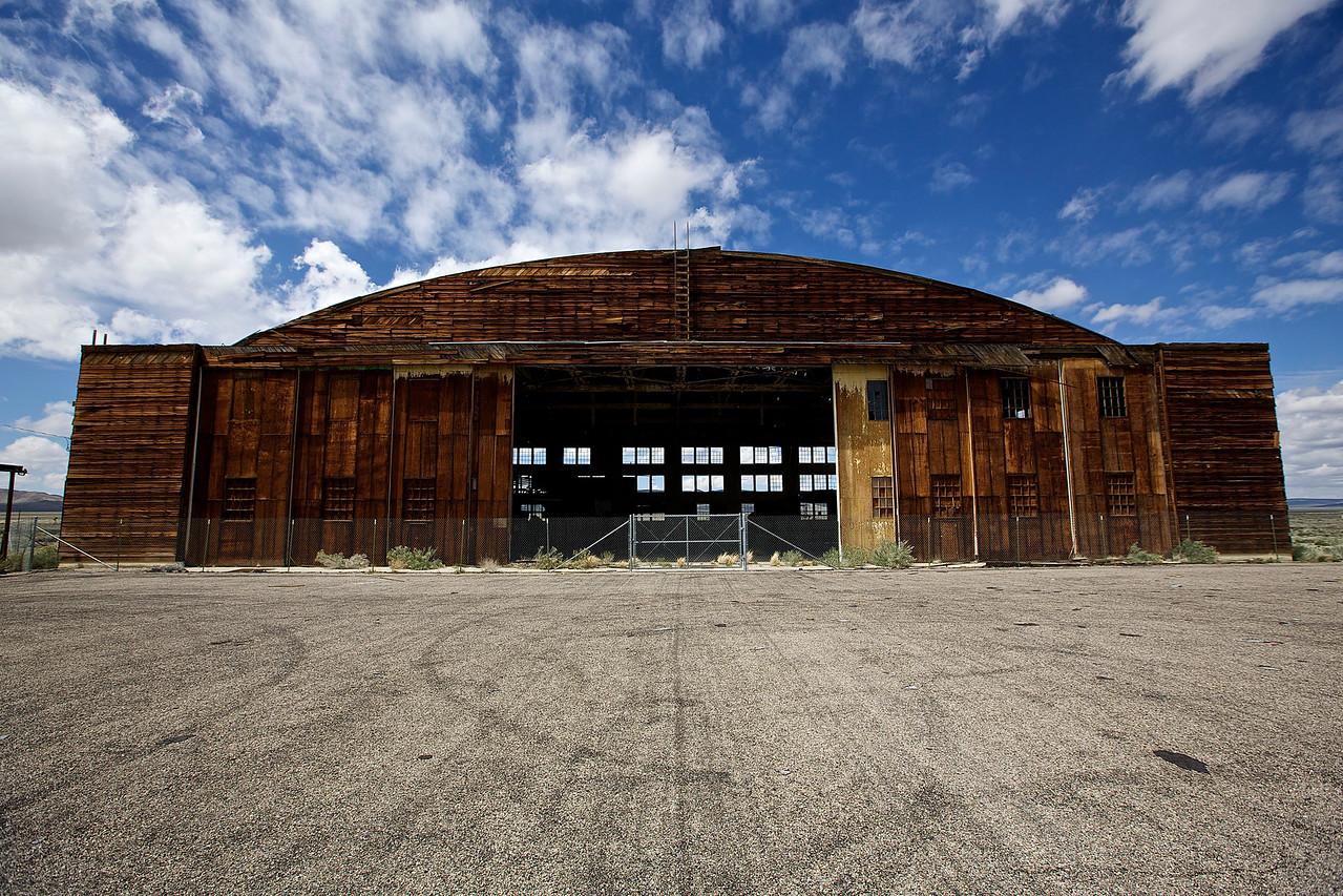 Hangar.  Tonopah Airport, Nevada