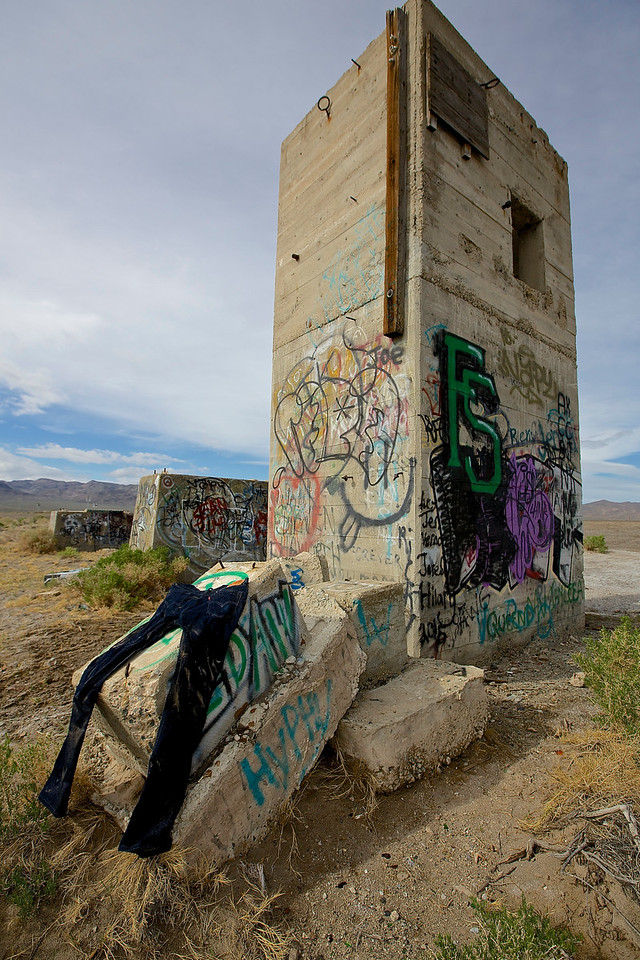 Size 32.  Graffiti Park #2.  Near Tonopah, Nevada